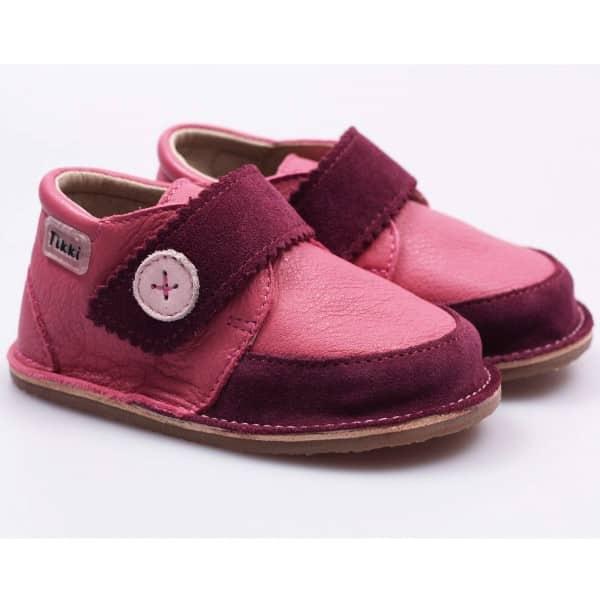 tikki boots cherry buttons