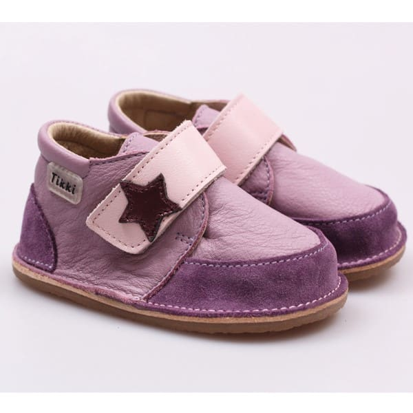 tikki boots purple rock