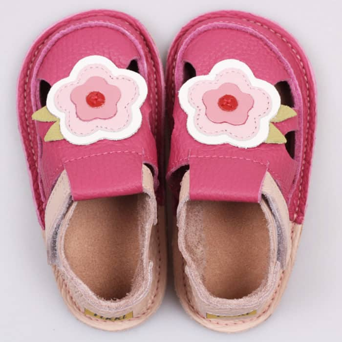 tikki sandals may flower ruzove