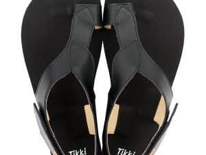 tikki soul damske barefoot sandalky black cierne