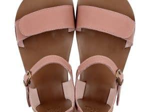 tikki vibe damske barefoot sandalky dusty pink