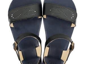 tikki vibe barefoot damske sandalky infinity black