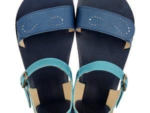 tikki vibe barefoot sandalky damske infinity blue