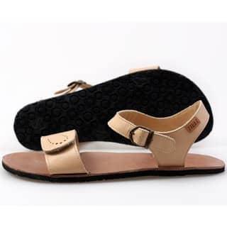 vibe barefoot damske sandale infinity nude