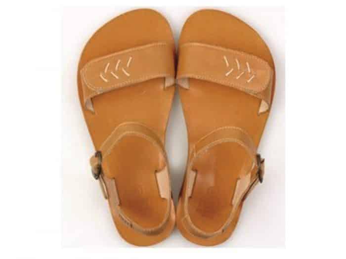 vibe barefoot damske sandale ray of sunshine