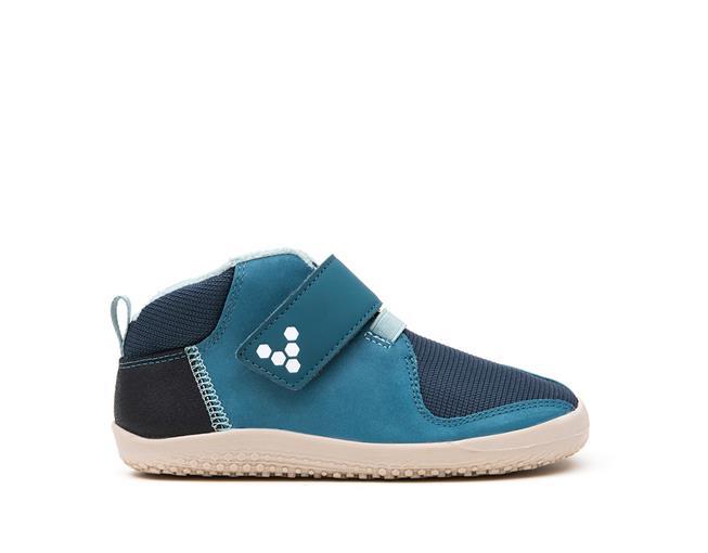 vivobarefoot primus bootie k leather indigo