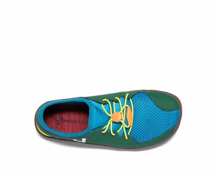 vivobarefoot primus colour kids k blue green yellow