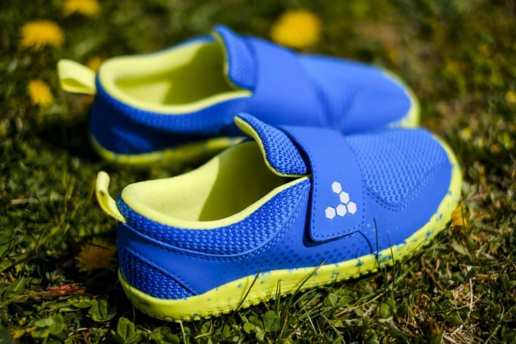 Detské veselé barefoot topánky Vivobarefoot Primus K 9