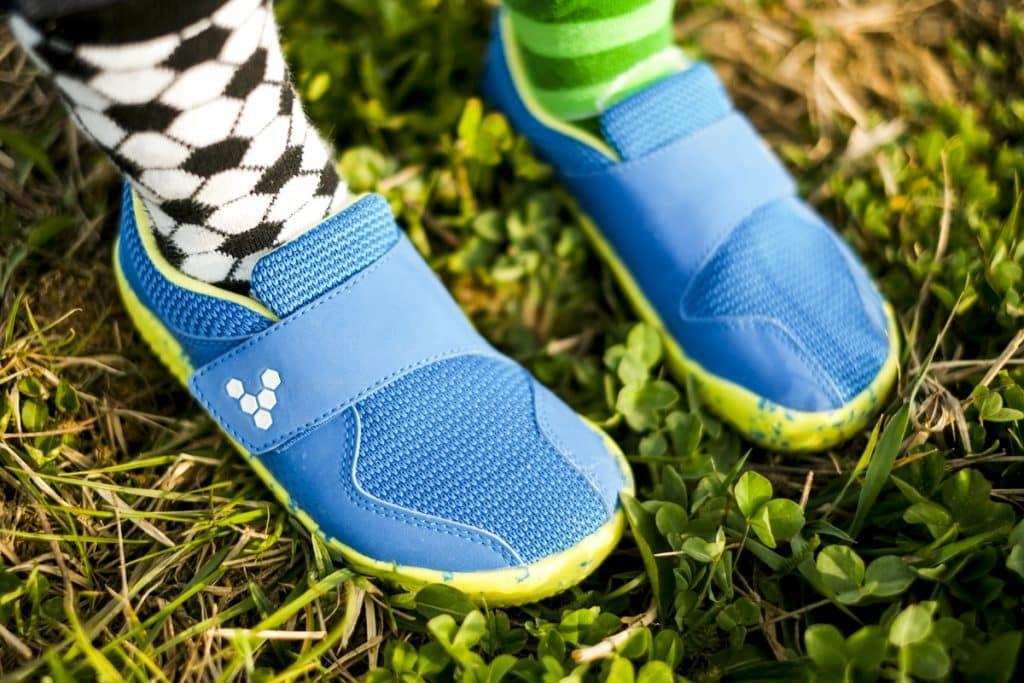Detské veselé barefoot topánky Vivobarefoot Primus K 10