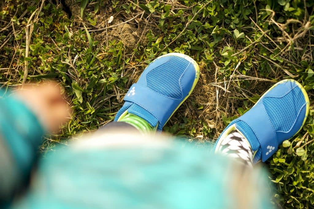 Detské veselé barefoot topánky Vivobarefoot Primus K 11