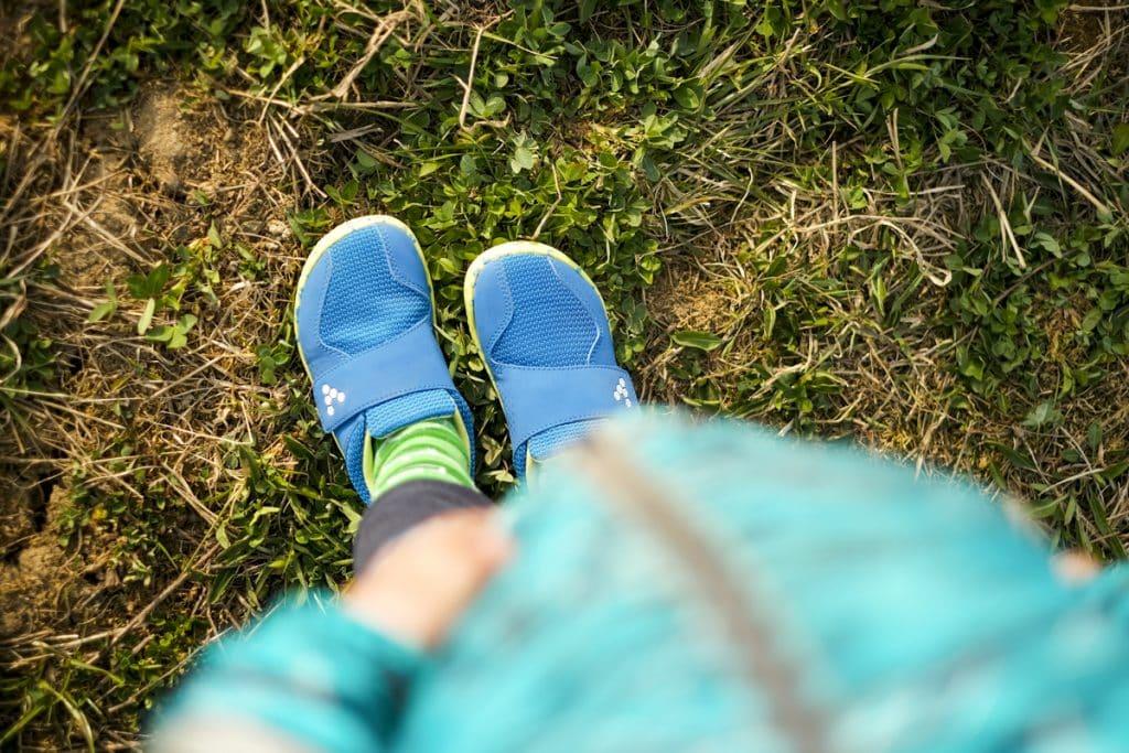 Detské veselé barefoot topánky Vivobarefoot Primus K 3