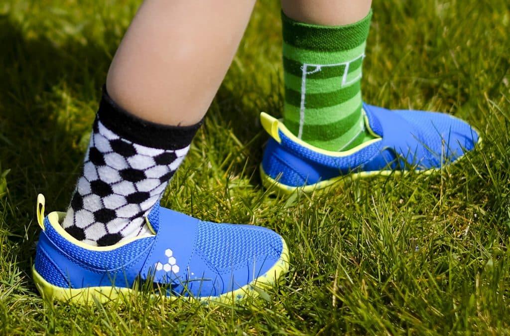 Detské veselé barefoot topánky Vivobarefoot Primus K 4
