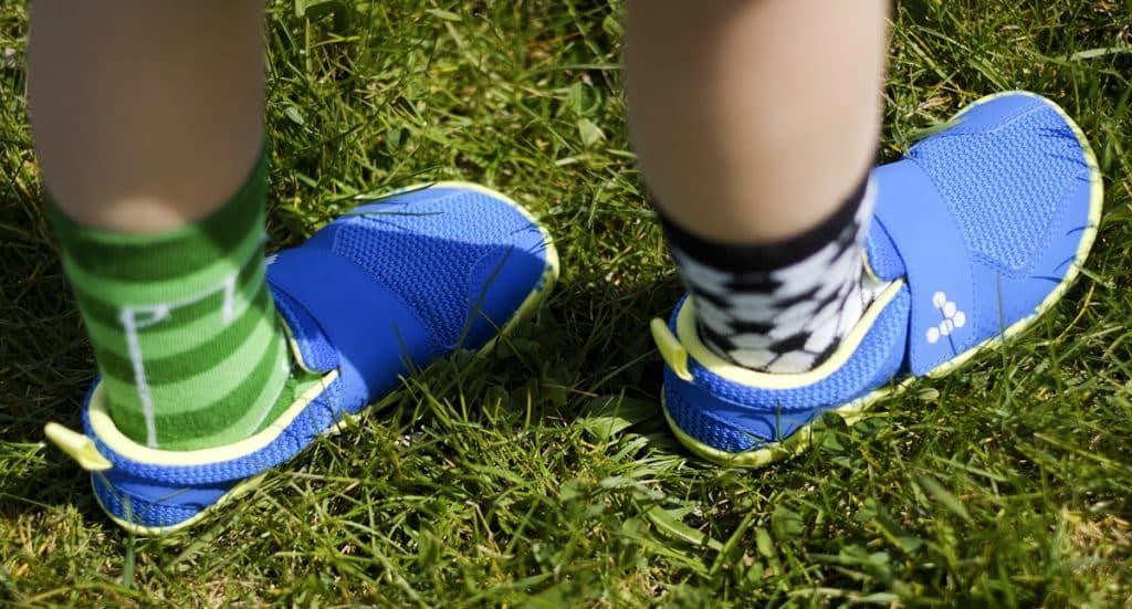 Detské veselé barefoot topánky Vivobarefoot Primus K 5