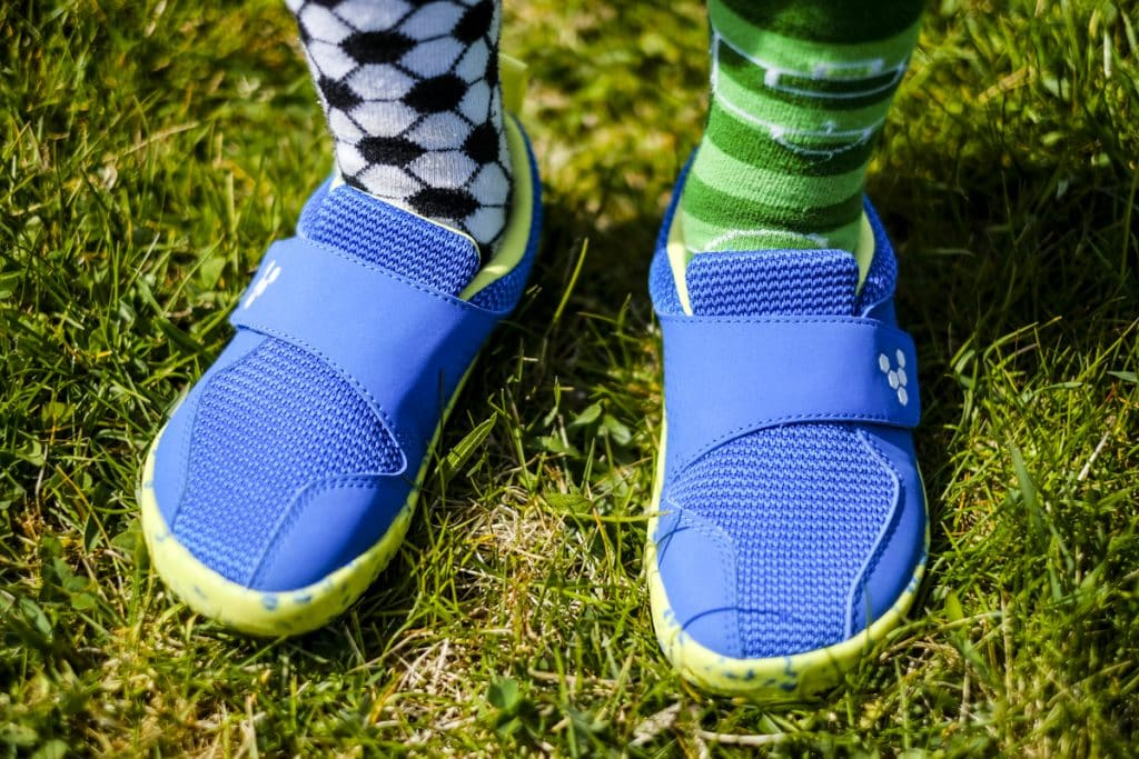 Detské veselé barefoot topánky Vivobarefoot Primus K 6