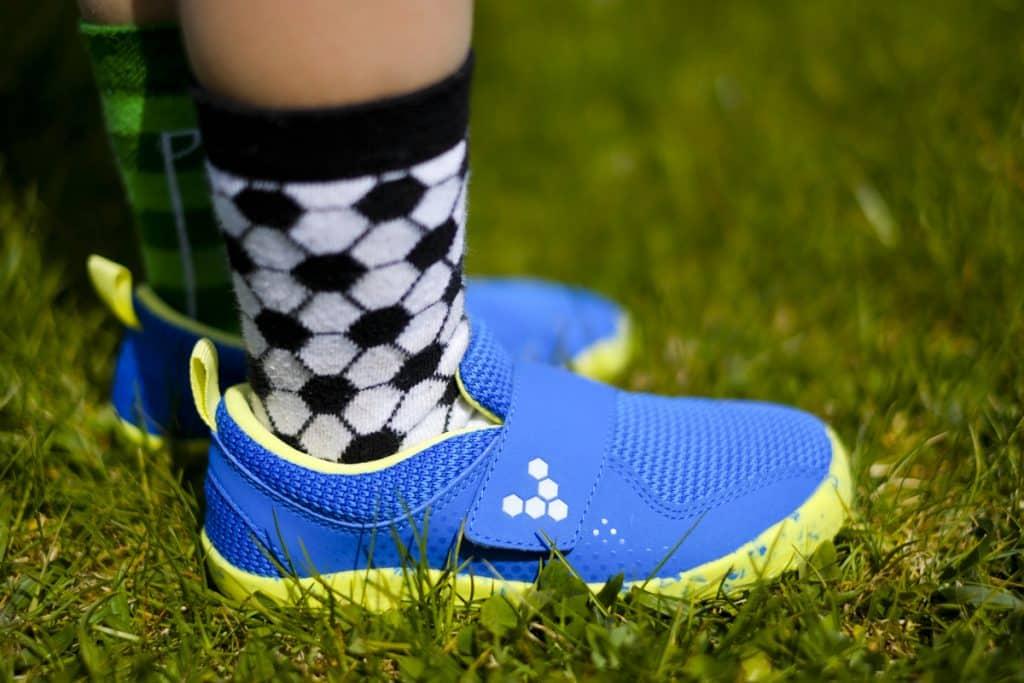 Detské veselé barefoot topánky Vivobarefoot Primus K 7