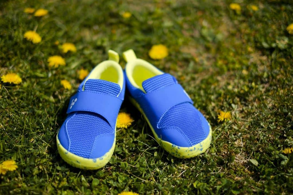 Detské veselé barefoot topánky Vivobarefoot Primus K 8