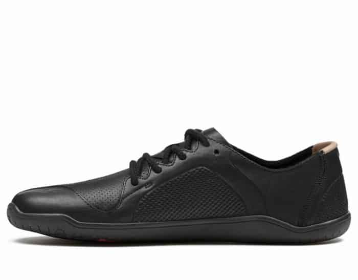 vivobarefoot primus lux lined m black leather