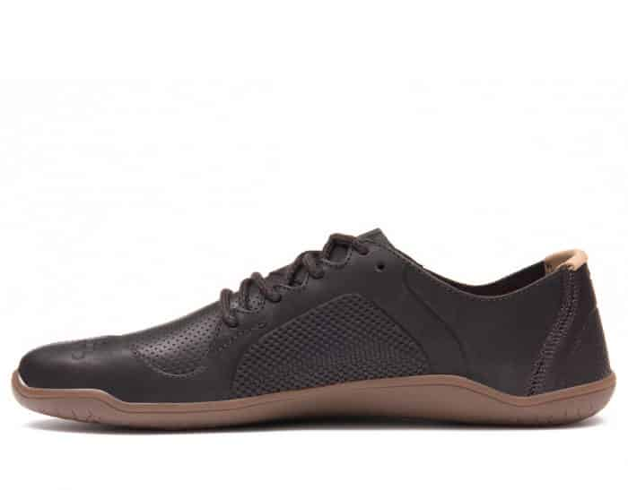 vivobarefoot primus lux lined m leather dk brown