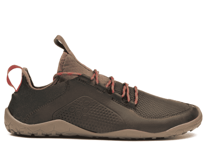 vivobarefoot primus trek m leather dk brown