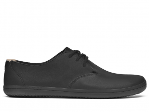 vivobarefoot ra black leather