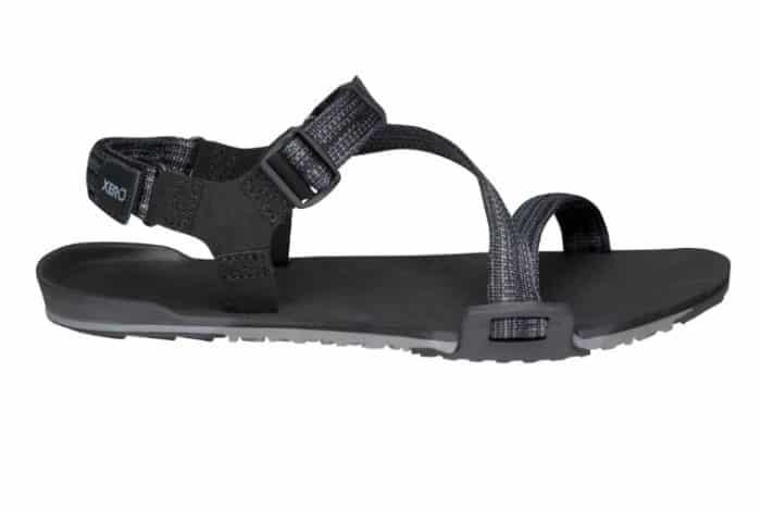 XERO SHOES Z - TRAIL M Black - Pánske sandále 2