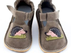 zeazoo corela brown hedgehog suede