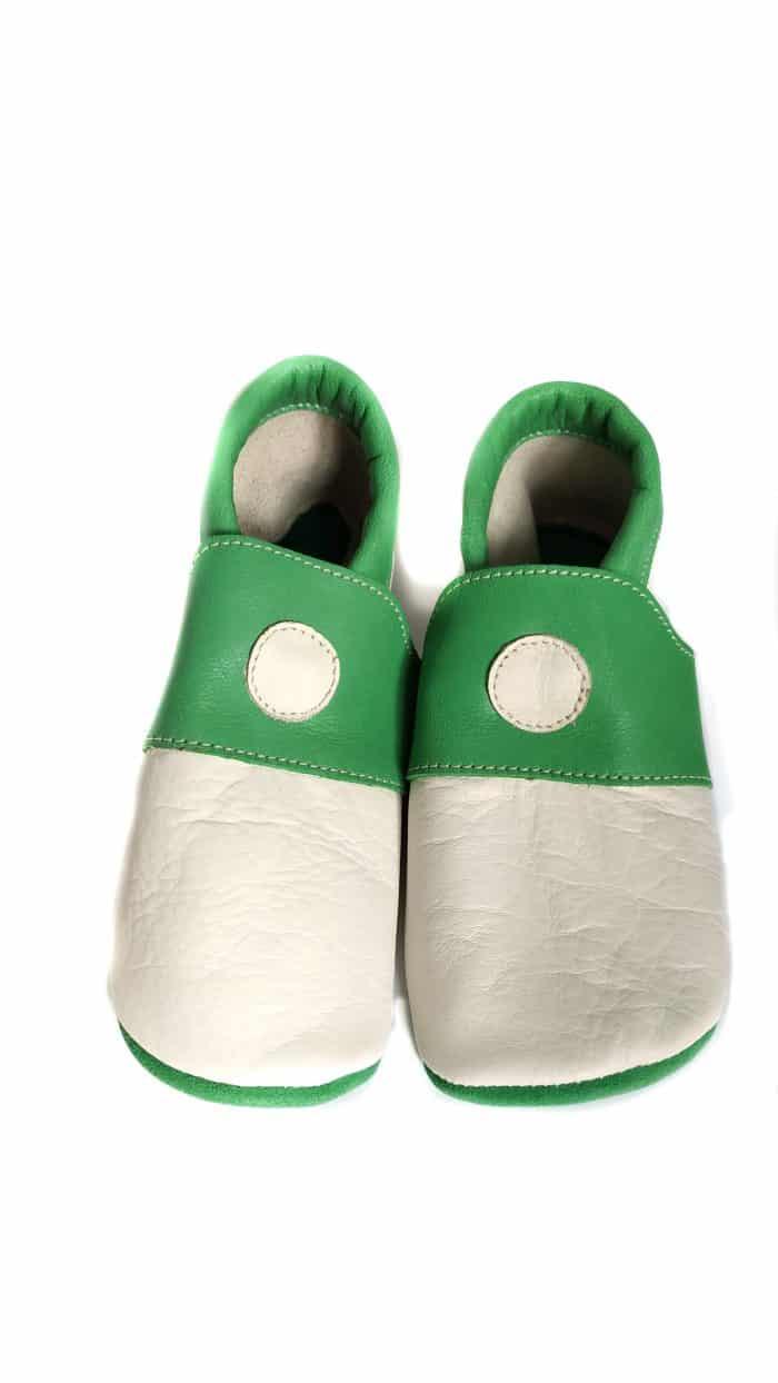 zeazoo slippers kiwi white